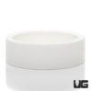 Large Ceramic Water Dish White