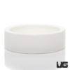 Medium Ceramic Water Dish White