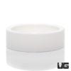 Small Ceramic Water Dish White